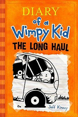 Diary of a Wimpy Kid: The Long Haul by Jeff Kinney ( Hardcover) on Rummage