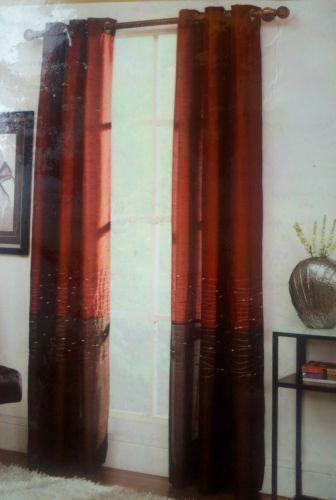 Grommet Curtains 63 Ebay
