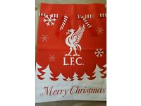 LIVERPOOL SANTA STOCKING SACK FOR CHRISTMAS