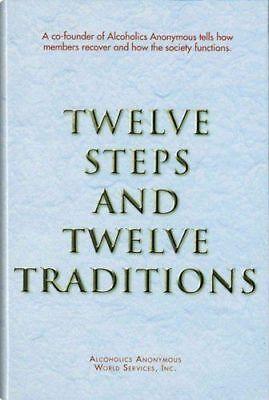 AA Twelve Steps/Twelve Traditions AA Services 2017 Ed. LARGE PRINT PAPERBACK NEW