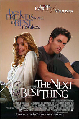 The Next Best Thing Original Video Release Poster 27x40 NEW 2000 Madonna