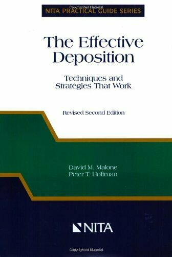 The Effective Deposition: Techniques and Strategies That... by Hoffman, Peter T.