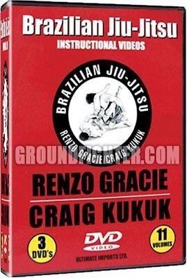 Renzo Gracie Jiu-Jitsu Instructional DVD Series New!