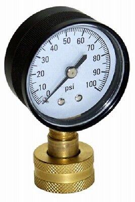 Water Source 100 Psi Water Pressure Test Gauge