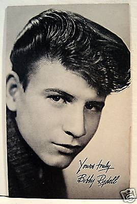 Bobby Rydell Rock N Roll Billboard Music Vending Card