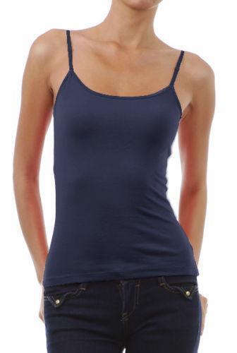 shelf bra cami tops blouses ebay. Black Bedroom Furniture Sets. Home Design Ideas