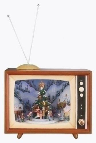 Christmas Tv Music Box Ebay