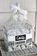 Wedding Bird Cage Card Holder