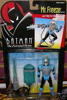 BATMAN MR FREEZE w FIRING ICE BLASTER MOC