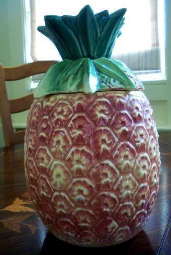 Pineapple Cookie Jar Ebay