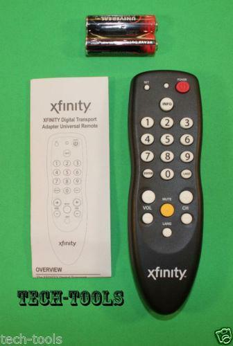 xfinity remote ebay comcast digital adapter remote control setup Comcast Remote Codes Manual