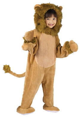 Cuddly Lion Toddler Kids Halloween Costume size 3T-4T](Lion Halloween Costume)