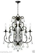 Antique Bronze Chandelier