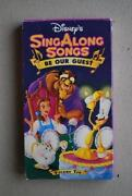 Disney Sing Along Songs Be Our Guest