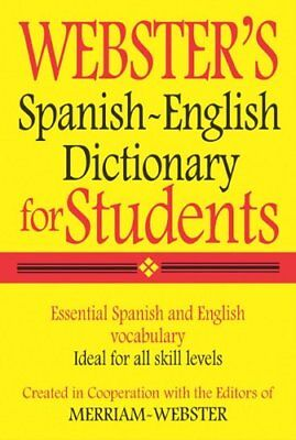 Websters Spanish English Dictionary For Students  Spanish Edition  By Merriam W