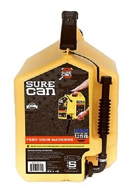 Surecan Sur50d1 5 Gallon Diesel Fuel Can W Rotating Flex Spout