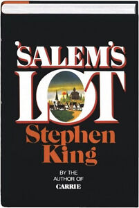 SALEM'S LOT by Stephen King HARDCOVER