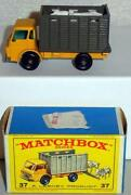 Matchbox 37 Cattle Truck