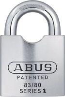 ABUS 83/80-300 S2 Schlage 80mm Solid Steel Rekeyable Padlock