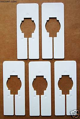 100 New Blank Rectangle Size Dividers For Clothing Racks - Highest Quality