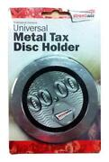 Chrome Tax Disc Holder