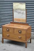 Vintage Oak Dressing Table
