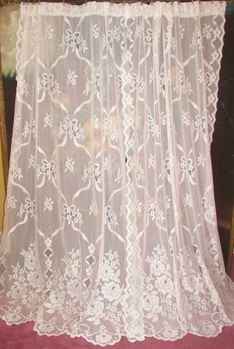 antique lace curtains ebay