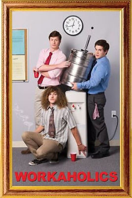 COMEDY CENTRAL WORKAHOLICS TV SHOW FRAME POSTER PRINT 24x36 FAST FREE SHIPPING