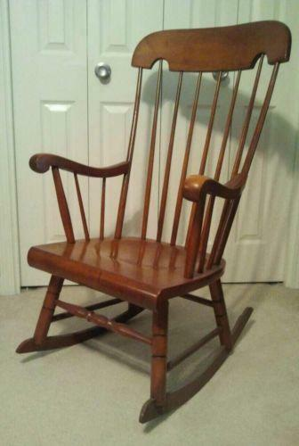 Ethan Allen Rocking Chair Ebay