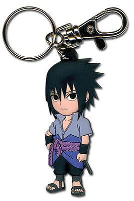 **Legit** Naruto Shippuden Authentic PVC Keychain SD Sasuke Uchiha #36696