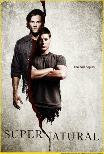 Supernatural Car TV Series Art Silk Poster 12x18 24x36