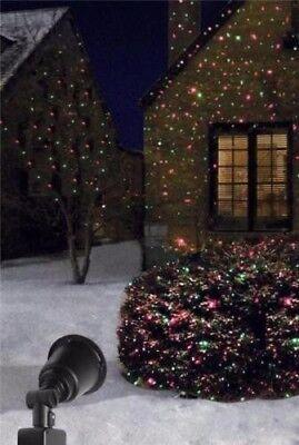 PRIME LFLRGM505 Yard Stake Laser Light Projector Black Christmas Lights
