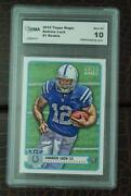 Andrew Luck Rookie Graded