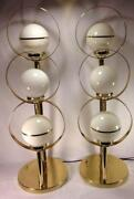 Pair Eames Lamps
