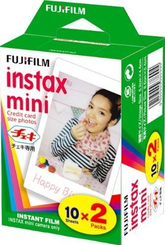 Fujifilm Instax Mini Film Twin Pack 20 Prints for Fuji  50s 25 7s 90 Mini8 Mini9