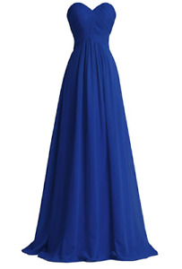 New Blue dress - perfect for weddings or Prom
