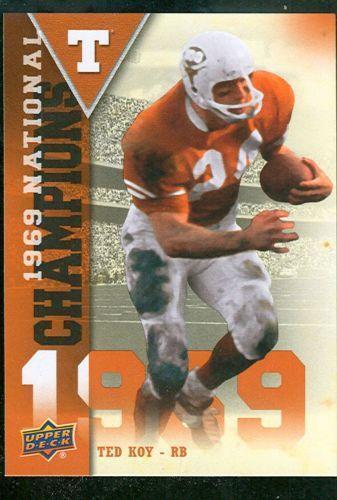 1969 Texas Longhorns Sports Mem Cards Amp Fan Shop Ebay