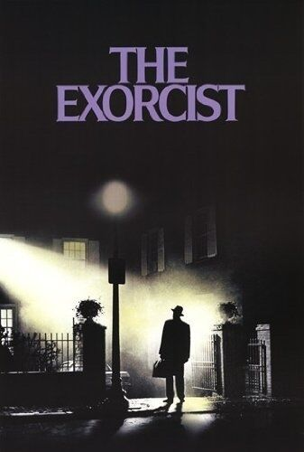 WARNER BROTHERS THE EXORCIST ONE SHEET MOVIE POSTER 24x36 NEW FAST FREE SHIPPING
