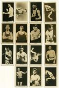 Boxing Card Set