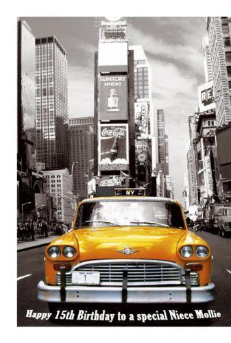 New York Birthday Card