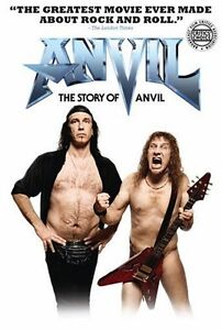 The Story of Anvil dvd-Mint condition