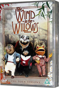 The Wind In The Willows Four Seasons Childrens Stories 4 DVD Tales Of Riverbank