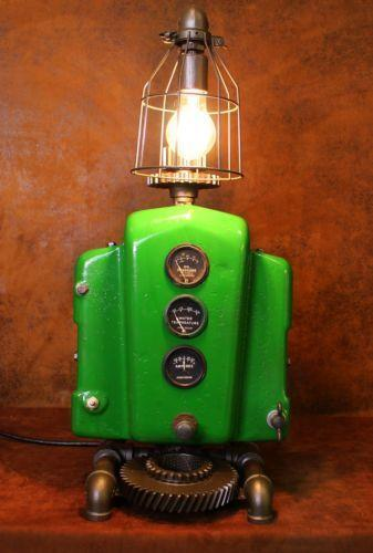 Vingage John Deere Table Lamps : John deere lamp ebay