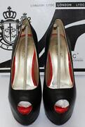 Black Heels Red Sole
