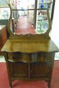 Oak Wash Stand