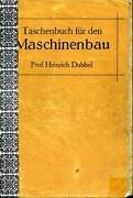 Taschenbuch Für Den Maschinenbau