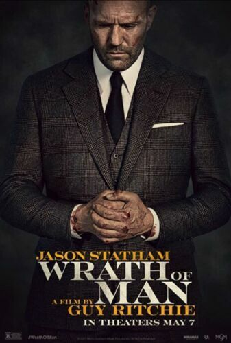 """""""Wrath Of Man"""" ( DVD, 2021) Brand New NOT Sealed Pre-Sale Ships 7/8 Release 7/13"""
