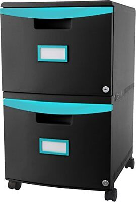 Storex 2-drawer Mobile File Cabinet 61315u01c