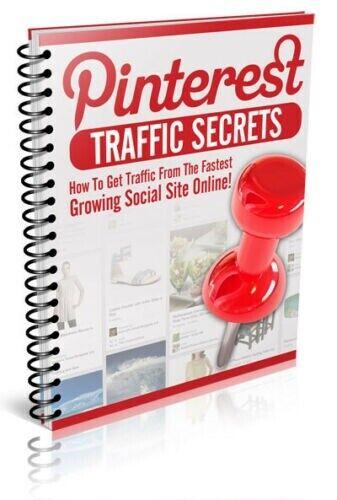 Pinterest Traffic Secrets PDF EBook W/Master Resell Rights  - $0.99