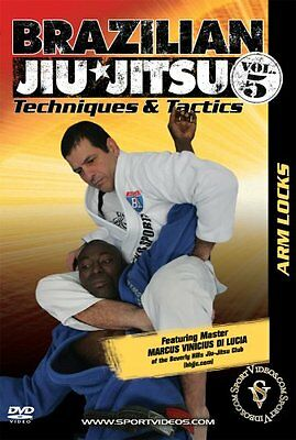 Brazilian Jiu-Jitsu Techniques and Tactics DVD - Arm Locks - Free Shipping